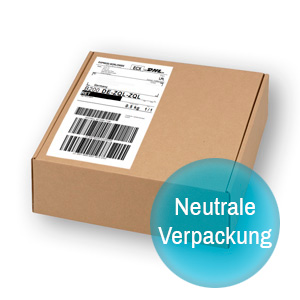 Gravistat Neutrale Verpackung