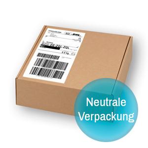 Flutiform k-haler Neutrale Verpackung